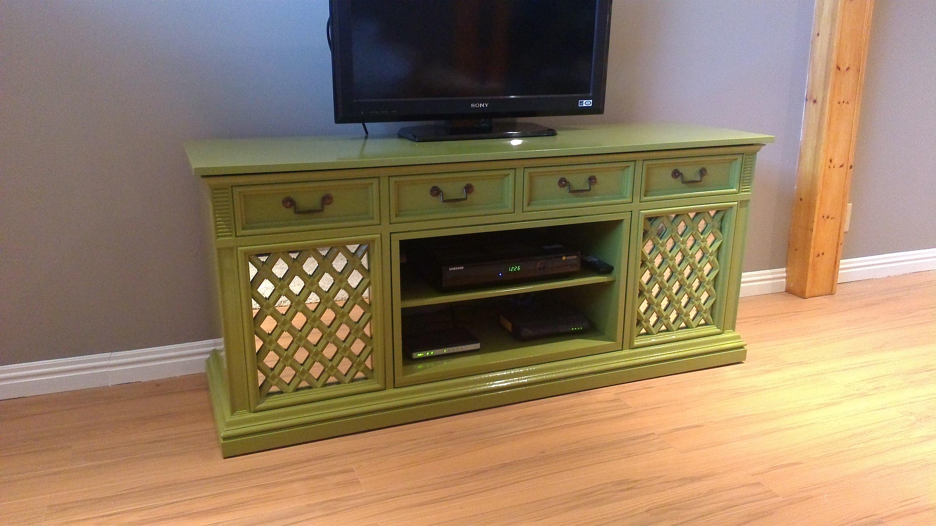 meuble télé look ''vintage''